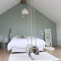7 Thriving Cool Ideas: Minimalist Home Diy Light Fixtures minimalist bedroom dark wood.Minimalist Bedroom Luxury Interiors simple minimalist home bedrooms.Minimalist Home Interior Cozy. Minimalist Bedroom, Minimalist Home, Home Bedroom, Bedroom Decor, Bedroom Swing, Bedroom Ideas, Budget Bedroom, Bedroom Mirrors, Bedroom Green