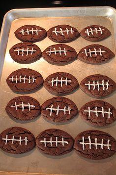 Oreo Football Cookies