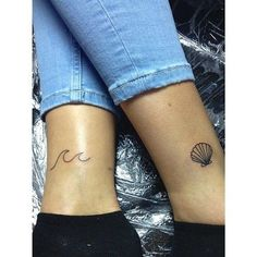 Tattoo wave sea tatoo 49 ideas for 2019 Bff Tattoos, Mini Tattoos, Neue Tattoos, Little Tattoos, Trendy Tattoos, Body Art Tattoos, Small Tattoos, Sleeve Tattoos, Tattoos For Women