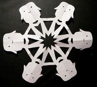 Doctor Who snowflake templates!