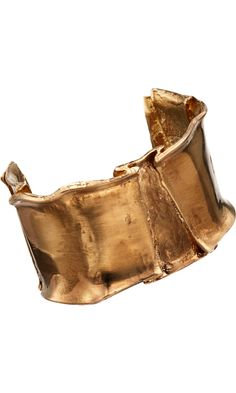 L'Agence Brass Folded Metal Cuff