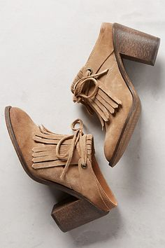 Blythe Tie-Front Mules #anthropologie
