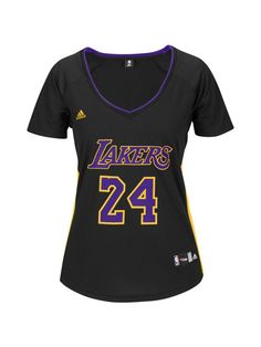 3bcacc2d52a Los Angeles Lakers Women s Kobe Bryant Hollywood Nights Replica Jersey