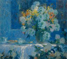 Flores, sin fecha, óleo sobre madera - 80 x 90 cm. Cesáreo Bernaldo de Quirós (1881 - 1968). Museo Castagnino.