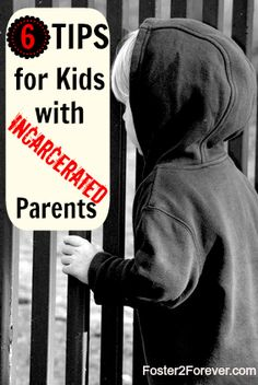 6 tips for kids with parents in prison. Includes a Sesame Street video interviewing a kiddo about his mom being in prison.