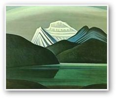 The Group of Seven — sometimes known as the Algonquin school — were a group of Canadian landscape painters from 1920 to 1933 (originally consisting of 7 artists) Group Of Seven Art, Group Of Seven Paintings, Mountain Landscape, Landscape Art, Landscape Paintings, Mountain Art, Canadian Painters, Canadian Artists, Lauren Harris