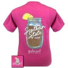 Details: Always a Southern State of Mind! Printed on Comfort Colors this tee will deliver a vintage-look while sporting the latest Girlie Girl Originals artwork. This garment is a pre-shrunk,...