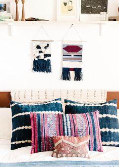 mi hogar escandinavo: Una casa de la familia boho relajada en Florida