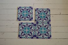 Turkish Iznik print tile Ottoman design  Set of 4 piece size : 40cm x 40cm .  each tile is weight 500gram and 7mm thickness. Iznik tiles with authantic desings, Hand painted murals, products of our workshop in İstanbul Turkey . Iznik Special tile made and color never running out and