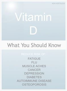 What You Should Know About Vitamin D | New Nostalgia