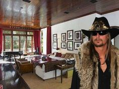 Musician Kid Rock is selling his Malibu, Calif. compound for $13.45 million. The home has just over 8,000 sq ft, huge, stunning rooms. The five-bedroom mansion sits on 1.54 acres of property, with a pool in the backyard