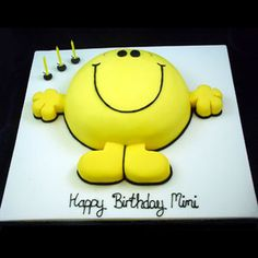 Google Image Result for http://www.janeasher.com/couture_images/happyblobby.jpg Mr Men and Little Miss cakes party kids boys girls birthday cupcake popcake cookies