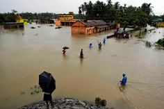 39 Killed by Flooding in #India