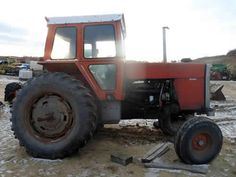 Massey Ferguson 1135 tractor salvaged for used parts. This unit is available at All States Ag Parts in Downing, WI. Call 877-530-1010 parts. Unit ID#: EQ-25397. The photo depicts the equipment in the condition it arrived at our salvage yard. Parts shown may or may not still be available. http://www.TractorPartsASAP.com