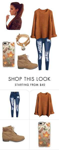 """Fall Outfit"" by samanthawoollard on Polyvore featuring Steve Madden, Casetify and Mulberry"