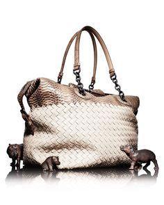 Bottega Veneta Blue Intrecciato leather drawstring shoulder bag ... 4f27496c7f157