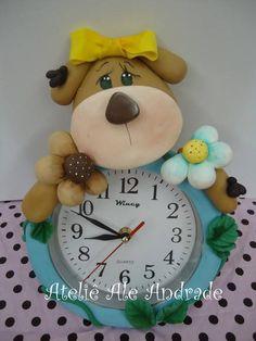 Relógio de urso
