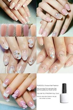 UV gel: the good tips for choosing it - My Nails Great Nails, Cute Nail Art, Perfect Nails, Cute Nails, My Nails, Gel Nail Varnish, Nail Gel, Brittle Nails, Nail Technician
