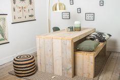 Pure Wood Design - Steigerhouten tafel - Lund