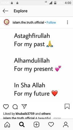 My Past, Alhamdulillah, Islam, Spirituality, Words, Spiritual, Horse