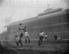 White Hart Lane, Tottenham, London, in 1938