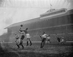 White Hart Lane, Tottenham, London, in 1938