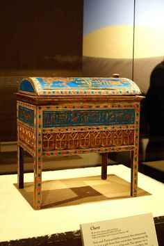 ancient egyptian tomb | Ancient Egyptian Jewel Chest from the Tomb of Tutankhamun's possible ...
