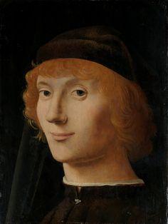 Antonello da Messina. Ritratto di giovane. New York, Metropolitan Museum of Arts