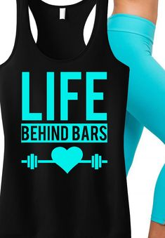 For those who love to lift! LIFE BEHIND BARS #Workout tank by NoBull Woman Apparel. Click here to buy http://nobullwoman-apparel.com/collections/fitness-tanks-workout-shirts/products/life-behind-bars-workout-tank-top