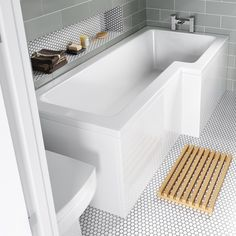 1700x850mm Right Hand L-Shaped Bath | Soak.com £159.99