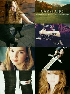 Edit by me. Emma Carstairs, female character from Lady Midnight.