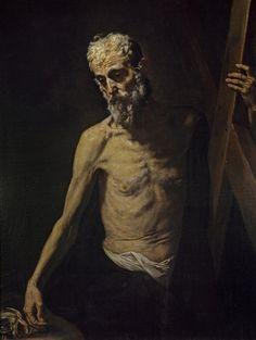 José de Ribera - San Andrés (Museo del Prado, c. 1630-32).