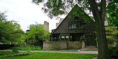 Illinois: Frank Lloyd Wright Home and Studio - ELLEDecor.com