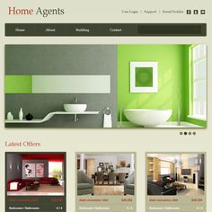 free website template css html5 properties a real estate mobile