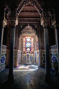 The temple, Castello di Sammezzano, Reggello