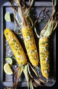 Grilled Shawarma Corn with Fresh Dill | 14 Delicious Reasons To Fire Up The BBQ This Spring