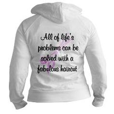 #HairStylist #HairStylistGift #OutrageousHairStyles #Ilovecuttinghair Fun and fabulous Outrageous hair styles and Hair Stylist Tees, Apparel, Gifts and Humor. More at www.cafepress.com/JLPBoutique