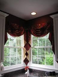 corner window curtains ideas - Google Search