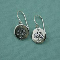 Tree of Life Earrings via Etsy.