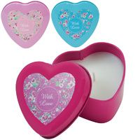 Heart Tin Candle - SOLD OUT