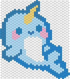 Image result for narwhal cross stitch pattern