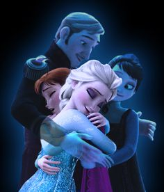 "The sisters were reunited at last, but the happy and loving family they once had remained lost forever.[Source: HKY91 ""Frozen- We are One"", deviantART]"