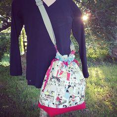 nina riera sur Instagram: Coucou les gens ♥️ ! Pour mon anniversaire, je me suis fait un sac ! On n'est jamais assez gâté, surtout par soi-même 😁... Modèle #calypso…