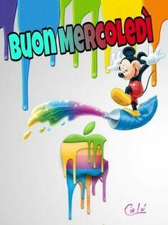 Good Night, Good Morning, Smurfs, Wednesday, Dolce, Apple, Facebook, Friends, Disney
