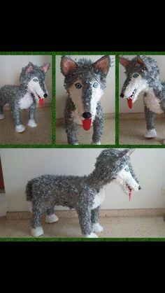 Big bad wolf piñata