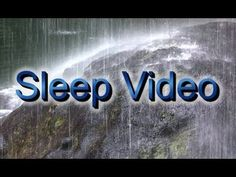 """Heavy Rain Sounds""60mins Meditation and Sleep Video"