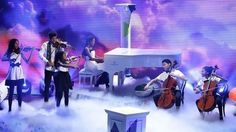 The Kanneh-Masons perform a musical medley Prince Harry Wedding, Britain's Got Talent, Charity Event, Semi Final, Winter Scenes, Debut Album, Good Vibes, Orchestra, Finals