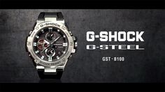 Liked on YouTube: G-STEEL GST-B100 product video (Horizontal ver.) : CASIO G-SHOCK #laurentistigliani #shoppingtrieste #diamanti #gioielli #oro #orologi #trieste