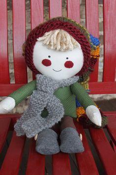 Handmade upcycled dolls...back to basics and I love it!
