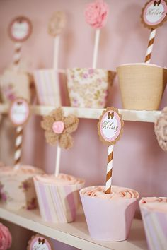 Pink & Vintage Cowgirl Birthday Party